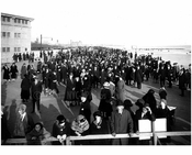 The first Sunday Crowd on the Boardwalk 1922