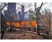 The Gates' a site - specific work of art by Christo & Jeanne-Claude in Central Park