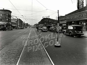 """The Junction"" --Flatbush Avenue at Nostrand Avenue looking NW, 1945"