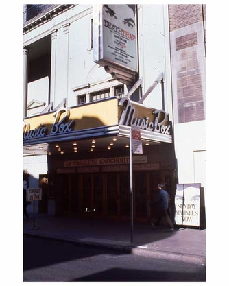 The Music Box Theater - Theater District 1970s Manhattan