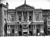 The old 14th Street theater, 1916