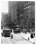 The scene outside of Grand Central Station - Madison & 42nd Street - Midtown Manhattan 1911