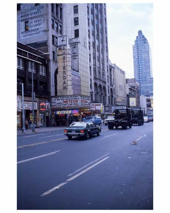 Theater District 1970s Manhattan