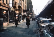 Third Avenue looking south to East 13th Street, 1950 - Lower East Side  - Manhattan - New York, NY