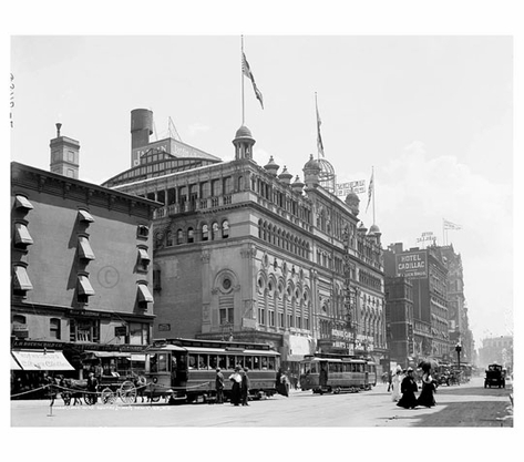 Times Square 1900