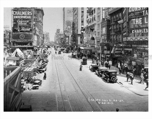 Times Square 1917