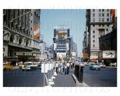 Times Square Admiral billboard 1955