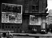 Times Square billboards, 1915
