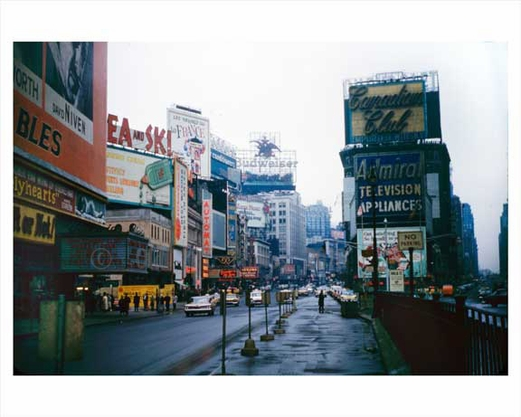 Times Square - looking north - 1959