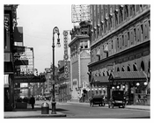 Times Square & West 44th Street  - Midtown Manhattan - 1915