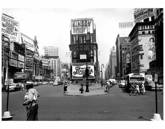 Times Square - with Kinsey Whisket & Pepsi Billboards