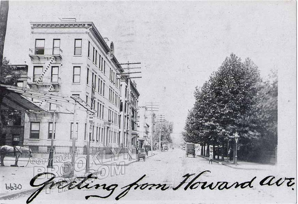 Tompkins Avenue looking south to Gates Avenue, 192