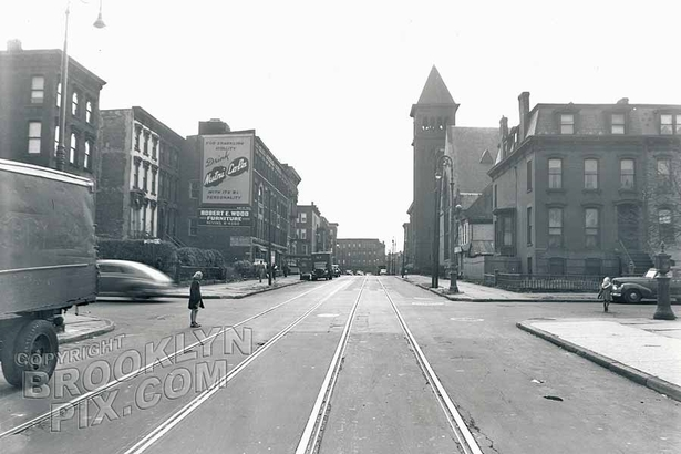 Tompkins Avenue south to Macon Street, 1947