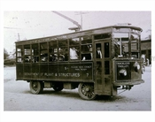 Trackless Trolley for Dept. of Plant & Structures