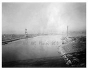 Triborough  Bridge under construction   1930s Brooklyn, NY