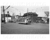 Trolley 1662 on Broadway & Vernon Blvd Astoria 1938