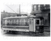 Trolley 1665 on Vernon Blvd Astoria 1938
