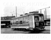 Trolley 1671 on Jackson Vernon Blvd LIC 1939