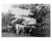 Trolley on Jamaica Avenue 1870 - Woodhaven  - Queens NY