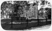 Truant home, Jamaica Avenue at Elderts Lane, now site of F.K. Lane HS athletic field, 1921