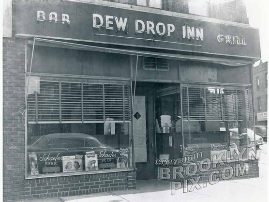 Typical Brooklyn bar of the 1940s