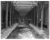 Underground - NYC subway system underconstruction at Houston & Lafayette October 15th 1901