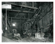 Underground - the digging out of the subway system Lexington Avenue at 83rd Street 1912 - Upper East Side Manhattan NYC