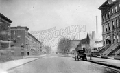 Underhill Avenue looking north to Park Place, 1918