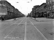Union Street looking south from Smith Street, 1928