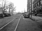 Union Street, southeast to Grand Army Plaza, 1949