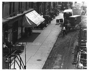 Upclose view of 10th Avenue & West 30th Street  - Midtown Manhattan - 1915