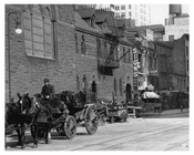 Upclose view of 7th Avenue 39th & 40th Streets - Midtown - Manhattan  1914