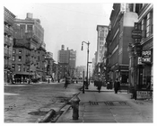 Upclose view of 7th Avenue between 20th & 21st Streets - Chelsea  NY 1915
