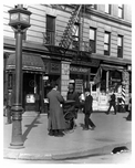 Upclose view of Lenox Avenue & 115th Street Harlem, NY 1910