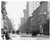 Upclose view of Madison Avenue & 60th Street - Upper East Side - Manhattan  1914