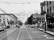 Utica Avenue looking north to St. John's Place, 1946