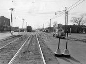 Utica Avenue looking south to Avenue D, 1945