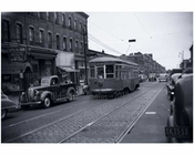 Utica Avenue Trolley 1940s