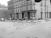 Van Brunt Street and Beard Street, northwest corner, 1940s