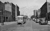 Vanderbilt Avenue north from DeKalb Avenue, 1950