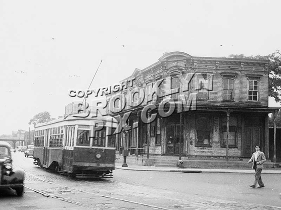 View at Cooper Avenue, 1948