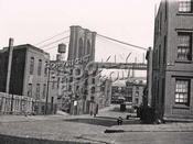 View from Columbia Heights and Poplar Street, Brooklyn, 1922