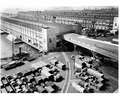 View of Pier 2, 3 & 4 as it was in 1946 - Brooklyn Army Supply Base