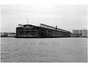 View West Rear - south Elevators and connecting bridge - pier 4 - Brooklyn Army Supply Base