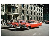 Vintage FDNY Emergency Response Vehicles - 5th Avenue Parade 1960s Manhattan
