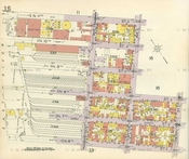 Vintage Map of Williamsburg