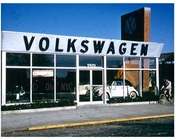 Volkswagon Dealership Flatbush Avenue & Avenue U, now Kings Plaza - 1959