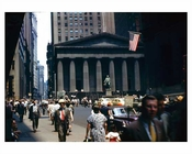 Wall Street 1945 Downtown Manhattan
