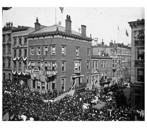 Washington Centennial Parade 1889