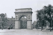 Washington Square Arch, c.1900